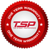 Top Street Performance is proud to offer a one-year warranty.