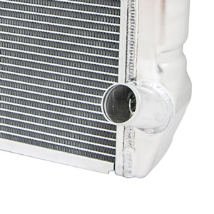 TSP's radiators are constructed from high-quality, lightweight aluminum.